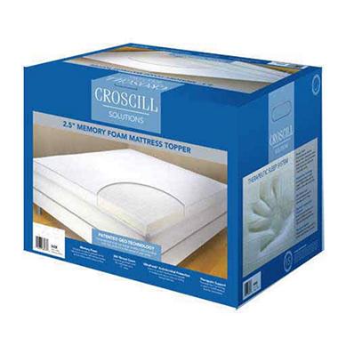 Croscill Solutions Memory Foam Topper Queen Sam S Club