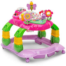 Delta Children Lil' Playstation 3-in-1 Activity Walker, Multi/Pink