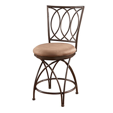 Big Amp Tall Metal Crossed Legs Bar Stool Assorted Sizes