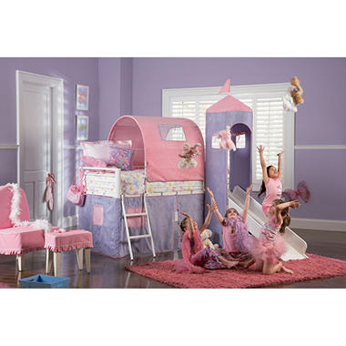 Castle Twin Bed With Slide