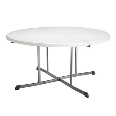 Lifetime 60 Quot Fold In Half Round Commercial Grade Table