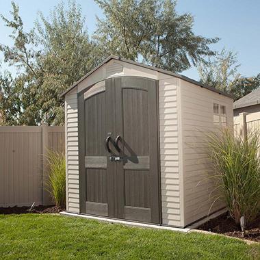 7 X 7 Lifetime Outdoor Storage Shed Sam S Club
