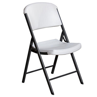 Lifetime Commercial Grade Contoured Folding Chair 4 Pack