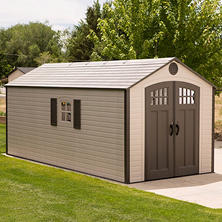 Lifetime 8' x 17.5' Storage Shed