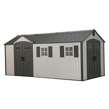 Lifetime 8' x 17.5' Storage Shed (Dual Entry)
