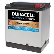 Duracell AGM Powersport Battery - ETX30LA