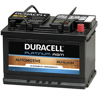 Costco Car Buying >> Duracell AGM Automotive Battery - Group Size 48 (H6) - Sam's Club