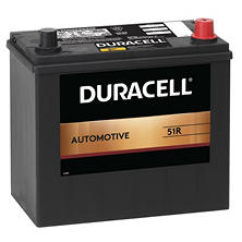 Duracell Automotive Battery - Group Size 51R