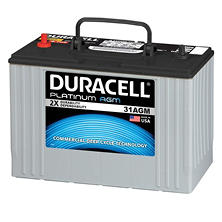 Duracell Heavy Duty AGM Truck Battery - Group Size 31AGM