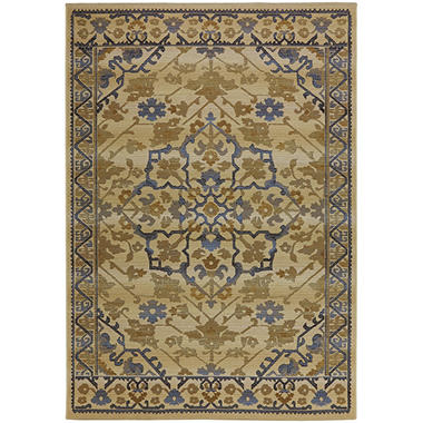 Sicily Cream Outdoor Area Rug Sam s Club