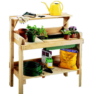Cedar Potting Bench Sam 39 S Club