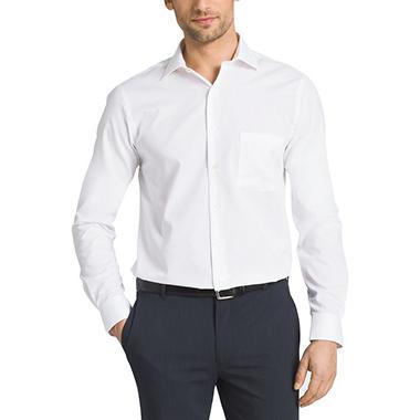 Van heusen long sleeve flex collar no iron shirt sam 39 s club for Van heusen shirts flex collar