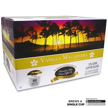 Hawaiian Isles Kona Coffee Co Vanilla Macadamia Nut