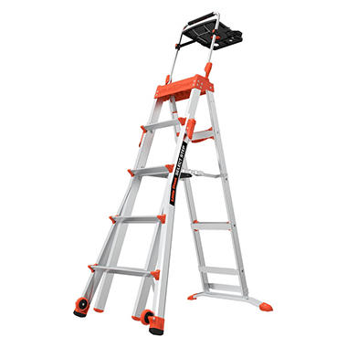 Little Giant Select Step 5 8 Adjustable Step Ladder