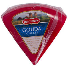 Dutchmark Red Wax Gouda Cheese (Priced Per Pound)