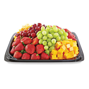 Member S Mark Fruit And Cheese Party Tray Sam S Club