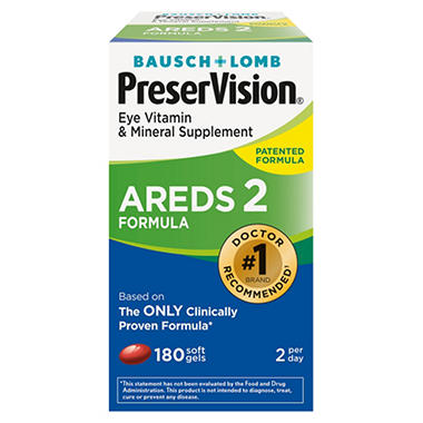 Bausch and lomb preservision areds 2 formula
