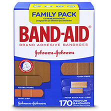 Band-Aid Brand Active Lifestyles Variety Pack Adhesive Bandages (170 ct.)