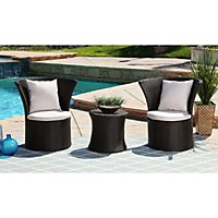 Ella 3 Piece Outdoor Bistro Set