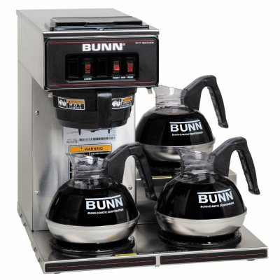 Bunn Coffee Maker At Sam S Club : Bunn VP17-3 Commercial Pourover Brewer with 3 warmers - Sam s Club