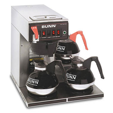 Bunn Cwtf15 12 Cup Automatic Commercial Coffee Maker With