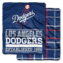 "MLB Double-Sided Throw (60"" x 70"")"