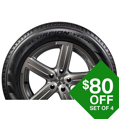 pirelli scorpion verde a s plus 245 55r19 103h tire sam 39 s club. Black Bedroom Furniture Sets. Home Design Ideas