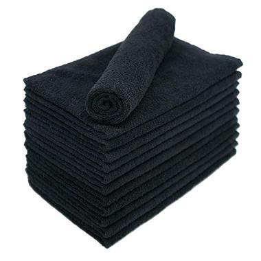 Bleachsafe? Salon Hand Towels - Black - 24 pk. - Sams Club