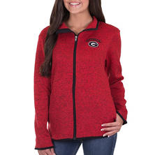 Georgia Bulldogs, NCAA Women's Athletic Fitness Jacket