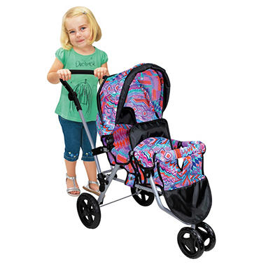 Twin Jogger Stroller - Purple - Sam's Club
