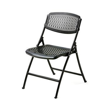 Mity Lite Flex One Folding Chair Black 40 Pack Sam S Club