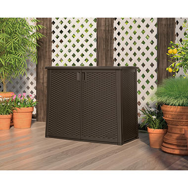 Suncast Outdoor Patio Cabinet - Sam's Club
