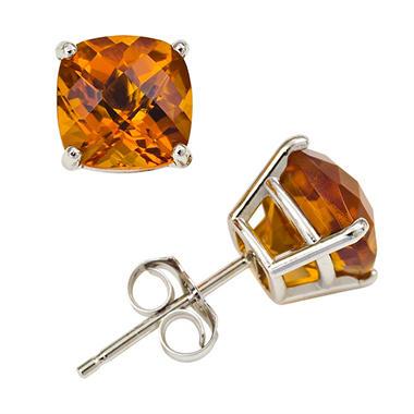 Diamond Earrings 14K Gold Earrings Pearl Earrings  Clip