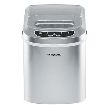 Igloo Ice 101-Black Countertop Ice Maker Black : igloo compact ice maker assorted colors by igloo item 878216 model ...
