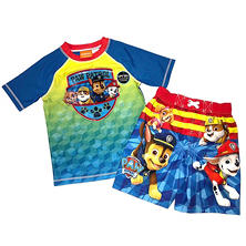Paw Patrol Rashguard and Swim Trunk Set
