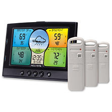 AcuRite Indoor & Outdoor Multi-Sensor Weather Station with 3 Temperature and Humidity Sensors