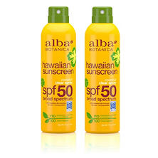 Alba Botanica Coconut Clear Spray Sunscreen SPF 50 (6 oz., 2 pk.)