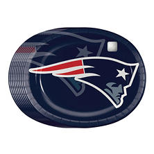 NLF Paper Platter Plates- 50 ct. (Choose Your Team)