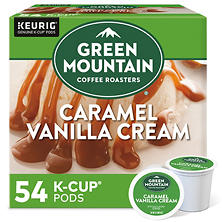 Green Mountain Coffee, Caramel Vanilla Cream (54 K-Cups)