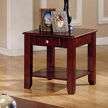 Logan Cherry End Table