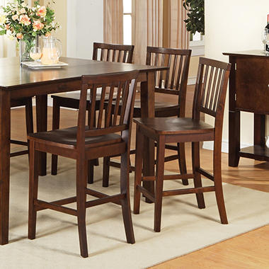 Counter Height Espresso Chairs : Ava Counter Height Dining Chairs - Espresso - 2 pk - Sams Club