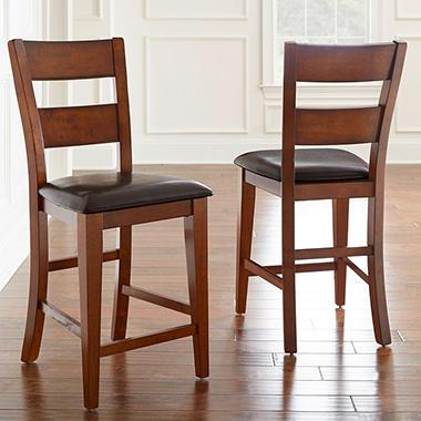 Ziva Counter-Height Chairs (2 pk.) - Sam's Club