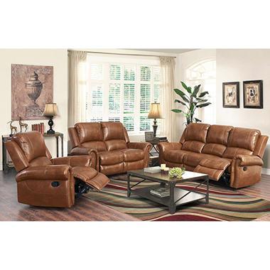 Winston Reclining Sofa Loveseat And Chair Set Sam 39 S Club
