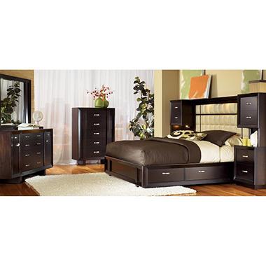 Solutions Cal King Bedroom Set 4 Pc Sam 39 S Club