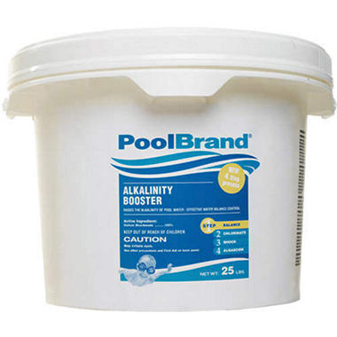 Poolbrand Alkalinity Increaser 25lbs Sam 39 S Club
