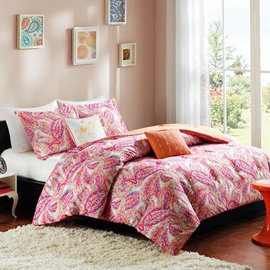 Anila 4 Piece Comforter Set Various Sizes Sam S Club