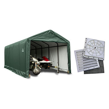 12 X 30 Ft Sheltertube Shelter With Anchor Kit And Auto