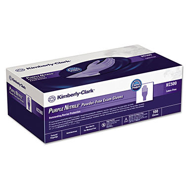 Kimberly-Clark Professional - PURPLE NITRILE Exam Gloves ...