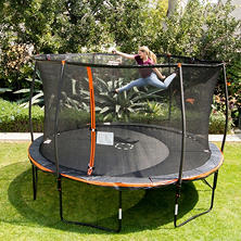 13' Trampoline with Steelflex Enclosure and Electronic Shooter Game