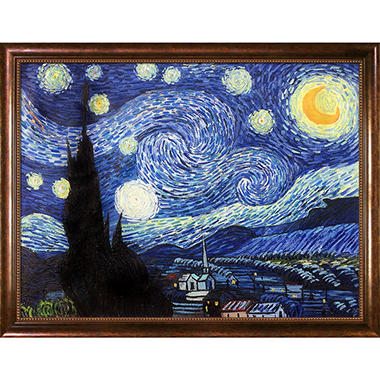 why van goghs starry night is By miriam mondlin i first saw van gogh's starry night at the museum of modern art, when i was about 8 or 9 years old, and i kept going back to look at it again and again.